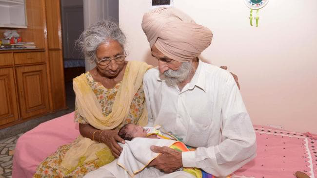 Grandparents go abroad to help their kids during pregnancy